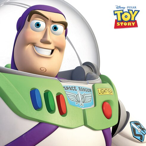 Toy Story Buzz Lightyear Canvas Wall Art