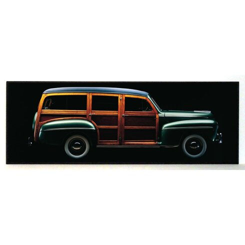 1947 Ford Woody Combi Painting Print