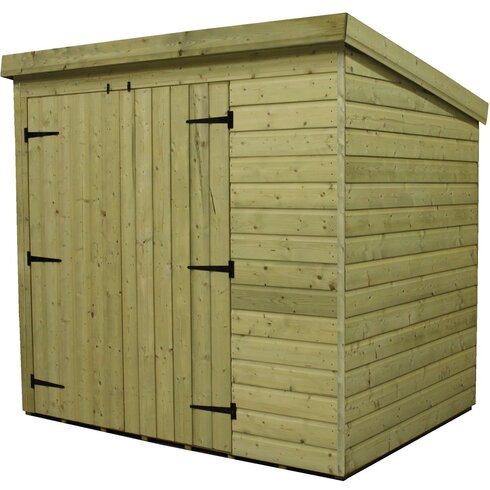 10 x 3 Wooden Lean-To Shed