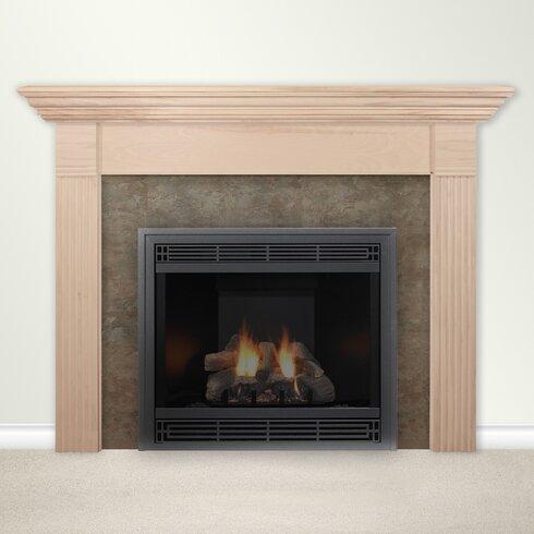 Housewarmer Fireplace Mantel Surround With Shelf Reviews