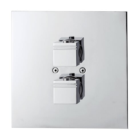 Thermokuatro Twin Concealed Shower Valve