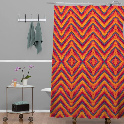 Wagner Campelo Sanchezia 1 Shower Curtain