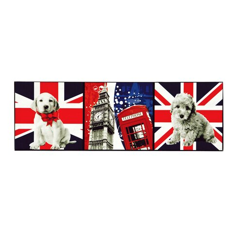 London Icons Graphic Art on Canvas