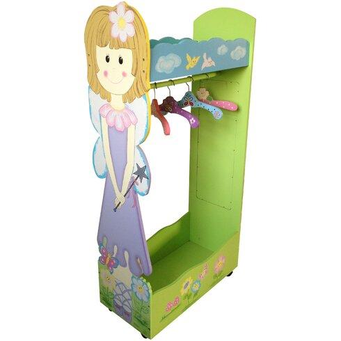 Fairy Dress Up Wall Mounted Coat Rack
