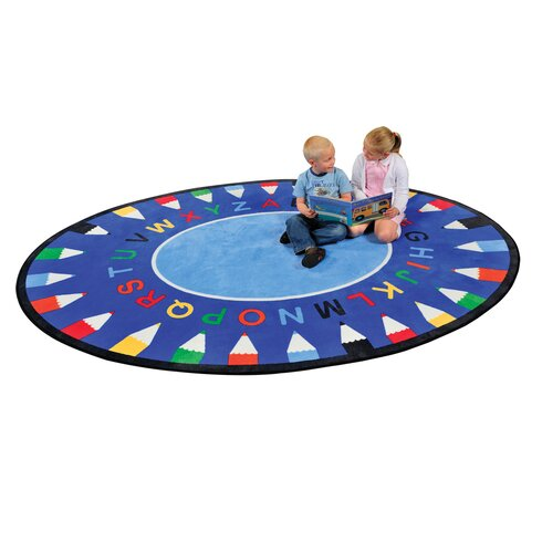 ABC Multi-Coloured Area Rug
