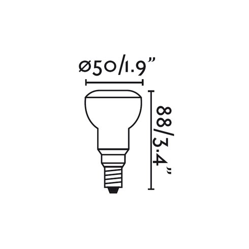 7W E14/European Light Bulb