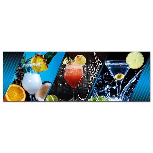Acrylglasbild Cocktails, Getränke