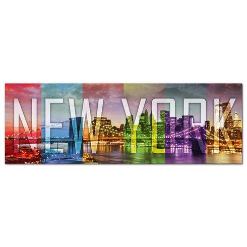 Acrylglasbild New York, Skyline