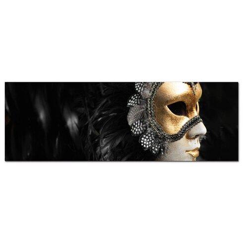 Acrylglasbild Maske, Karneval, Venedig