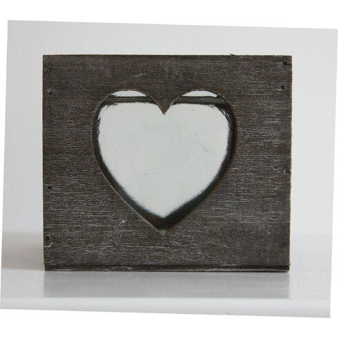 Wood/Glass Hurricane