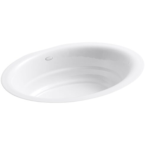 Garamond Oval Undermount Bathroom Sink