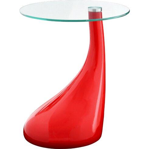 Modern Pedestal Side Table