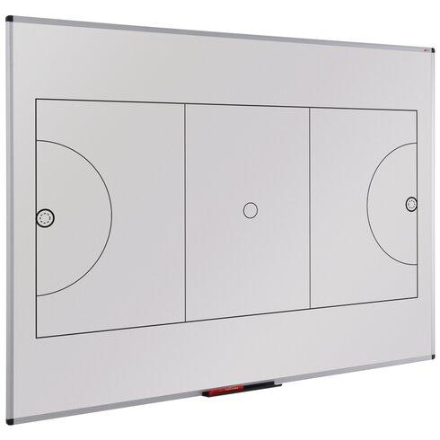 Wall Mounted Whiteboard, 90cm H x 120cm W