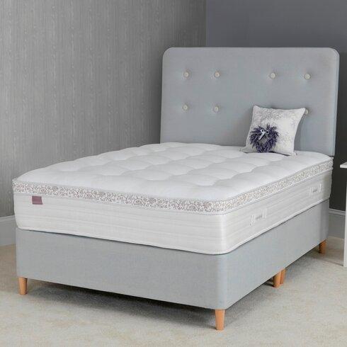 Lavande 1500 Wood Leg Divan Bed