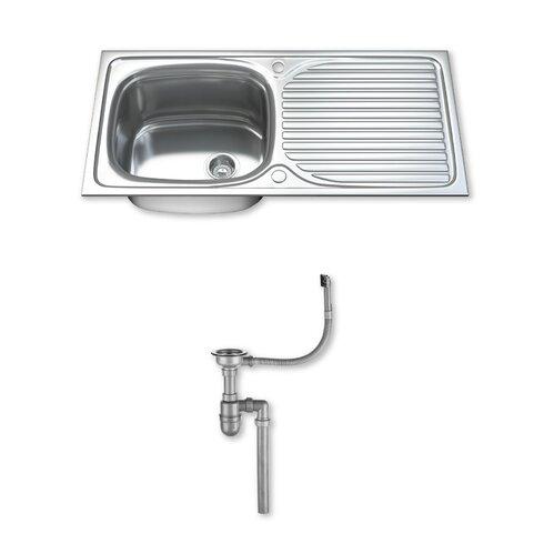 100cm x 50cm Stainless Steel Kitchen Sink