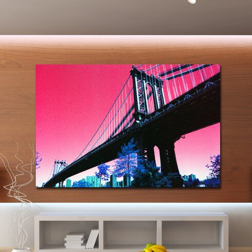 Freeway Graphic Art on Canvas