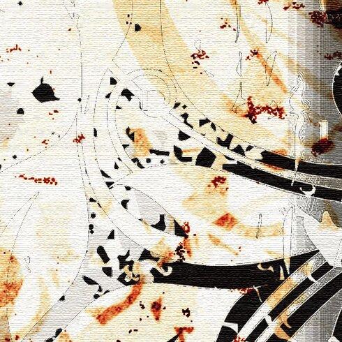 Jungle Drum 5 Piece Graphic Art on Canvas Set