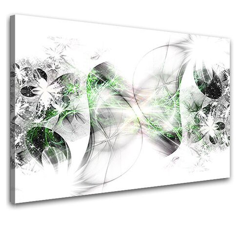 Stars Graphic Art on Canvas