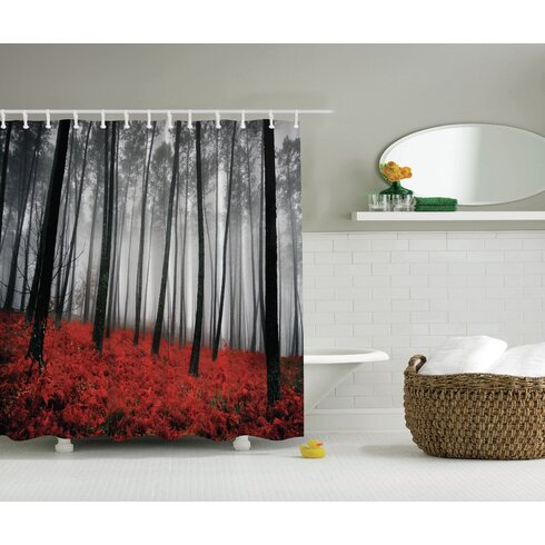 Ambesonne Fall Print Shower Curtain Amp Reviews