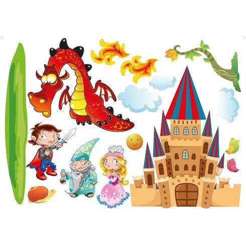 Prince And Dragon Wall Sticker