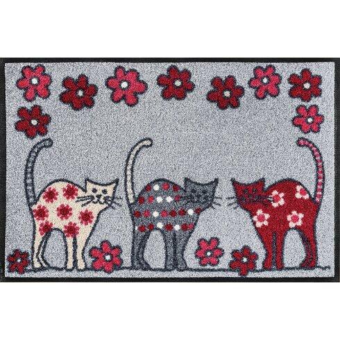 Fußmatte Cat Parade