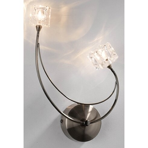 Glass Square Wall Sconce Shade