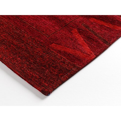 Rosmore Velour Red Area Rug