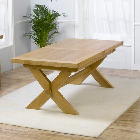 Rochelle Extendable Dining Table and 8 Chairs