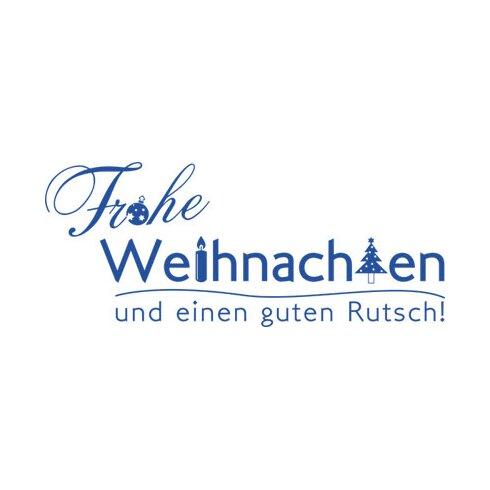 Wandtattoo Frohes Fest, Guten Rutsch