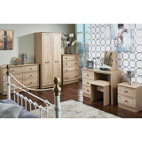 Inishbeg 3 Drawer Dressing Table