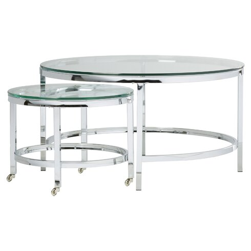 QUICK VIEW. Joel Coffee Table - Modern Clear Coffee Tables AllModern