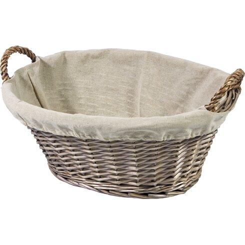 Oval Washing Willow Basket