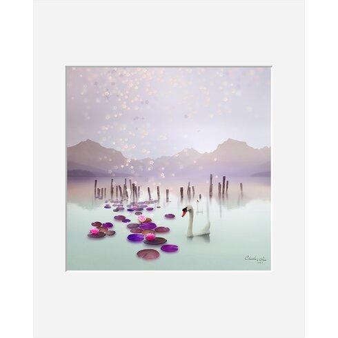 Lotus by Iris Framed Graphic Art