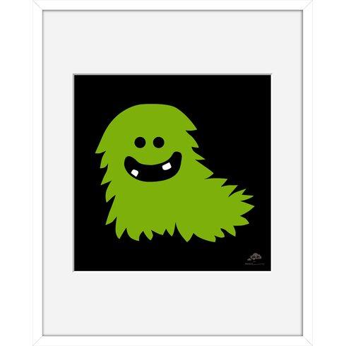 Monster by Aksel Framed Graphic Art