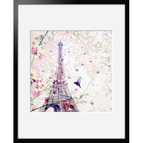 Demoiselle by Iris Framed Graphic Art