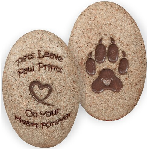 Angelstar dog paw print decorative stone reviews for Decorative rocks for sale near me