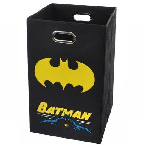 Modern littles batman folding laundry hamper reviews wayfair - Batman laundry hamper ...