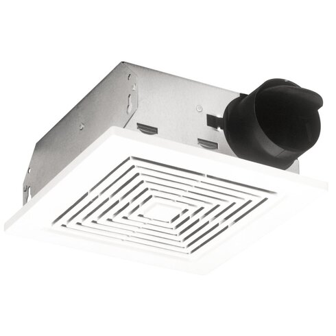 broan ceiling wall mount 50 cfm bathroom exhaust fan reviews