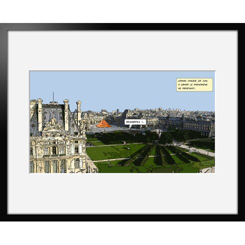 23 Juin by Philippe Matine Framed Graphic Art