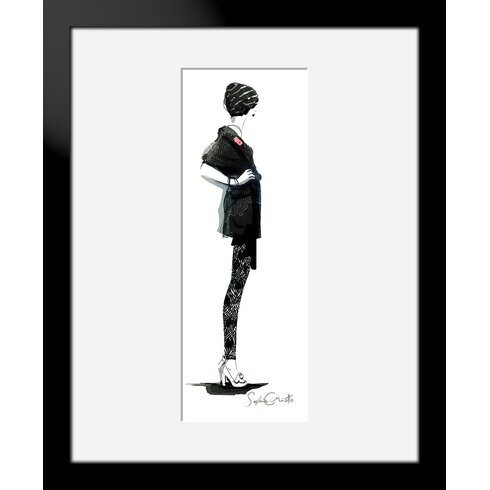 Clara by Sophie Griotto Framed Art Print