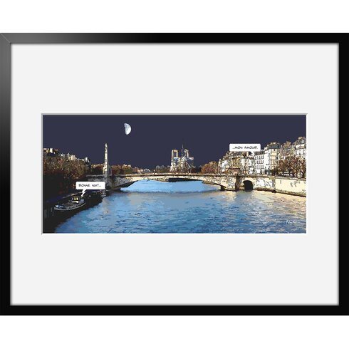 Mon Amour by Philippe Matine Framed Graphic Art