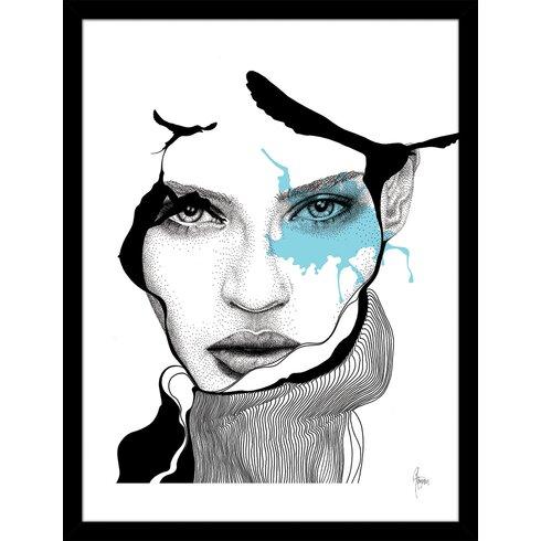 Design by Rikke Jørgensen Framed Graphic Art
