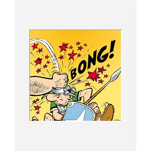 Bong! by Uderzo Framed Graphic Art
