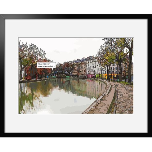 Atmosphere by Philippe Matine Framed Graphic Art