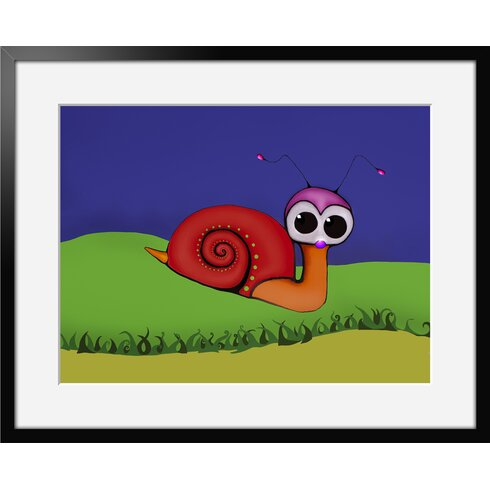 Univers De L'Enfant 03 by Vidal Framed Graphic Art