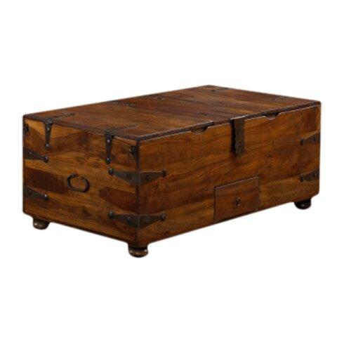 Mapleton Trunk Coffee Table - Loon Peak Mapleton Trunk Coffee Table & Reviews Wayfair