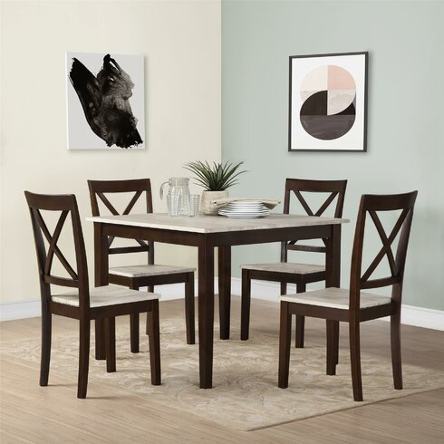 Espresso Kitchen & Dining Room Sets You\'ll Love   Wayfair