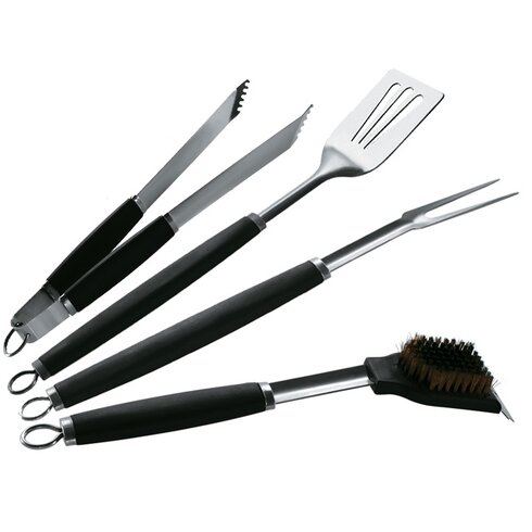 Barbecue Pro 4 Piece Deluxe Tool Set