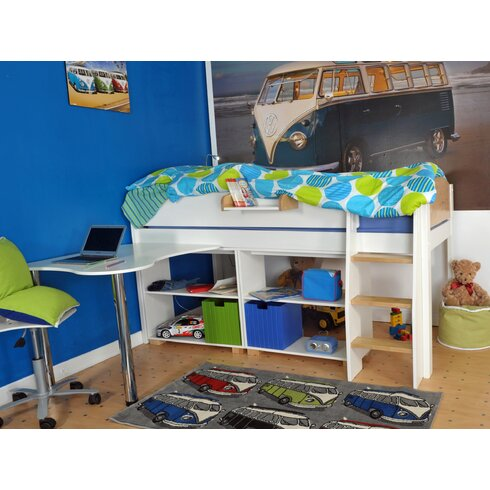 Norfolk Single Mid Sleeper Bed with Storage