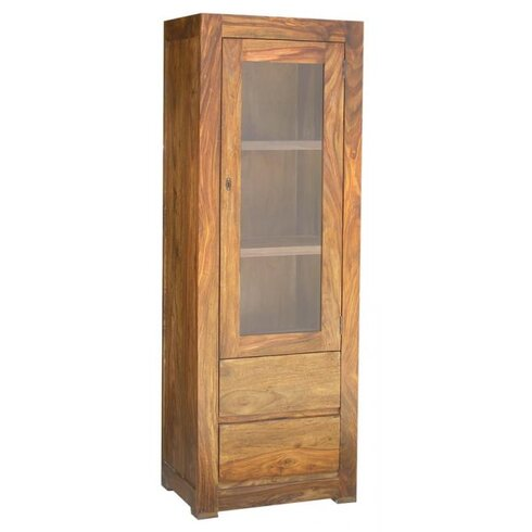 Milano Solid Rosewood Display Cabinet